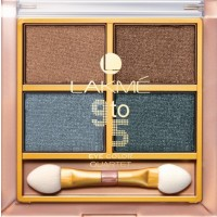 Lakme 9 To 5 Eye Quartet Eyeshadow - Smokey Glam
