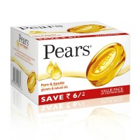 Pears Pure & Gentle Soap Bar Pack Of 3 (Rs. 6 off)