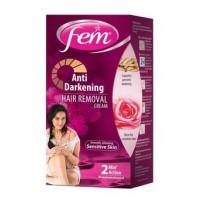 Fem Anti Darkening Hair Removal Cream Rose