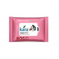 Kara Toning Wipes With Rose & Thyme (10 Wipes)