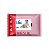 Kara Baby Cleansing Wipes With Chamomile Extract (20 Wipes)