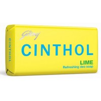 Cinthol Lime Soap Pack of 3 + 100gm Free