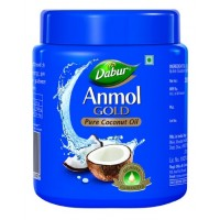 Dabur Anmol Gold Pure Coconut Oil - Wide Mouth (Rs.14 Off)
