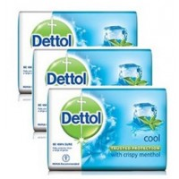 Dettol Cool Menthol Soap Pack of 3