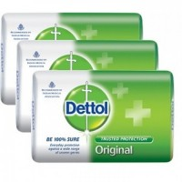 Dettol Original Soap Pack of 3