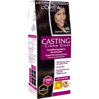 L'Oreal Paris Casting Creme Gloss Hair Color Small Pack - 300 Darkest Brown