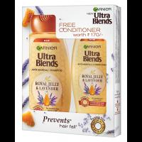 Garnier Ultra Blends Royal Jelly & Lavender Shampoo 340ml + Free Conditioner Worth Rs 170/-