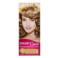 Revlon Color And Care Permanent Hair Color Cream - Light Golden Brown 6G (Rs 25 Off)