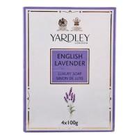 Yardley English Lavender Bathing Soap (Pack of 4)