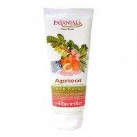 Patanjali Aloevera Apricot Scrub Tube