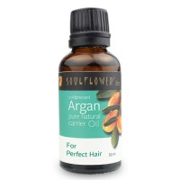 Soulflower Argan Carrier Oil - Coldpressed