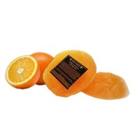 Soulflower Orange Pure Glycerin 100% Veg Soap