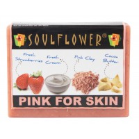 Soulflower Pink For Skin Soap