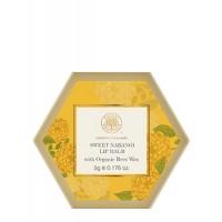 Forest Essentials Luscious Lip Balm - Narangi Glaze