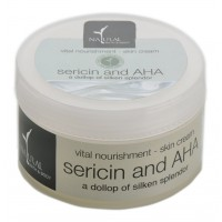 Natural Bath & Body Vital Nourishment Skin Cream - Sericin & AHA