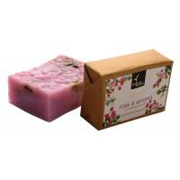 Natural Bath & Body Rose & Almond Bathing Bar