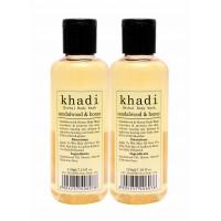 Khadi Sandalwood & Honey Body Wash (Pack of 2)