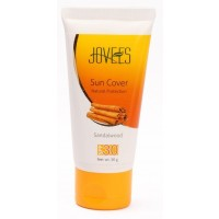 Jovees Sandalwood Sun Cover Natural Protection - SPF 30