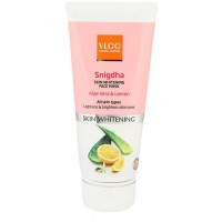 VLCC Snigdha Skin Whitening Face Mask (Aloe Vera & Lemon)
