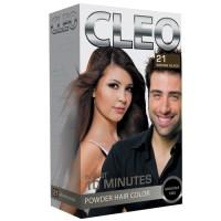 Cleo Powder Hair Color - Brown Black 21