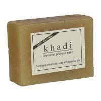 Khadi Cinnamon Pitchouli Soap (With Shea Butter)