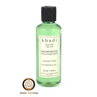 Khadi Natural Neem Teatree & Basil Herbal Hair Oil (Anti Dandruff)