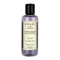 Khadi Herbal Lavender Ylang Ylang Massage Oil