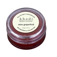 Khadi Natural Wine Grapefruit Lip Balm
