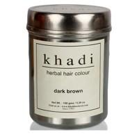 Khadi Natural Dark Brown Hair Colour