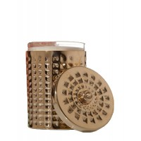 Kama Ayurveda Madurai Candle with Brass Holder