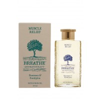Breathe Aromatherapy Muscle Relief Bath And Skin Oil - 100ml