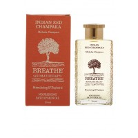 Breathe Aromatherapy Indian Red Champaka Bath And Skin Oil