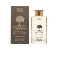 Breathe Aromatherapy Indian Spices Bath And Skin Oil