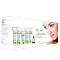 Richfeel Skin Logix Anti-Ageing Facial Kit with Swiss Apple Stem Cells (Set of 6)