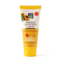 Astaberry Papaya Sunblock Creme - SPF 18 (100 ml)