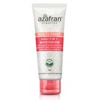 Azafran Organics Multi Fruit Daily 3 In 1 Moisturizer