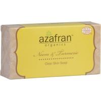 Azafran Organics Neem & Turmeric Soap