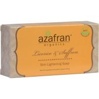 Azafran Organics Licorice & Saffron Soap