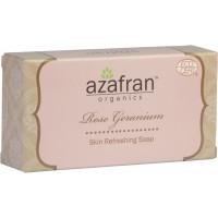 Azafran Organics Rose Geranium Soap