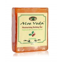 Aloe Veda  Moisturising Bathing Bar - Patchouli with Cinnamon Leaf Oil