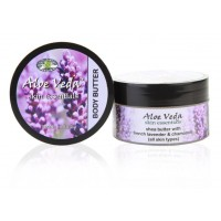 Aloe Veda Skin Essential Luxury Body Butter - French Lavender