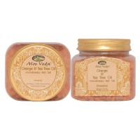 Aloe Veda  Aromatherapy Bath Salt - Orange & Tea Tree Oil (energising)