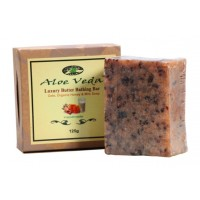 Aloe Veda  Luxury Butter Bathing Bar - Oats, Organic Honey & Milk Soap