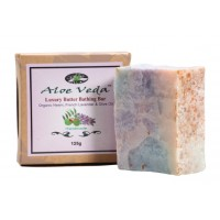 Aloe Veda  Luxury Butter Bathing Bar - Neem , French Lavender & Olive Oil