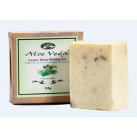 Aloe Veda Luxury Butter Bathing Bar - Peppermint,Tea Tree Oil, Lemon Grass & Rosemary