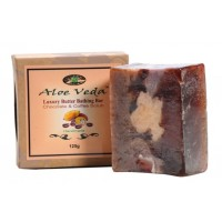 Aloe Veda  Luxury Butter Bathing Bar - Chocolate & Coffee Scrub