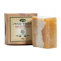 Aloe Veda  Luxury Butter Bathing Bar - Multani Mitti & Tea Tree Oil