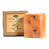 Aloe Veda  Luxury Butter Bathing Bar - Orange & Ginger Scrub