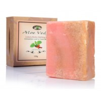 Aloe Veda  Luxury Butter Bathing Bar - Cinnamon & Fresh Mint