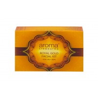 Aroma Treasures Royal Gold Facial Kit For Oily Skin - Single Time